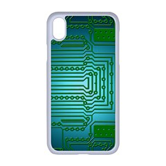 Board Conductors Circuits Iphone Xr Seamless Case (white)