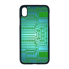 Board Conductors Circuits Iphone Xr Seamless Case (black)