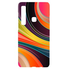 Abstract Colorful Background Wavy Samsung Case Others by HermanTelo