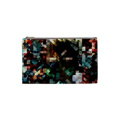 Abstract Texture Desktop Cosmetic Bag (small) by HermanTelo