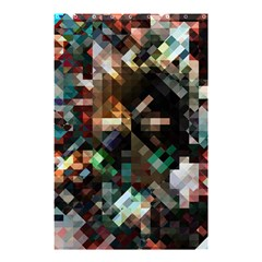 Abstract Texture Desktop Shower Curtain 48  X 72  (small)  by HermanTelo