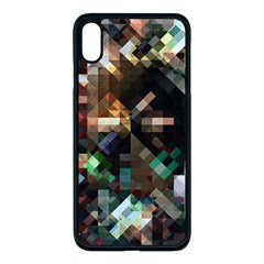 Abstract Texture Desktop Iphone Xs Max Seamless Case (black)
