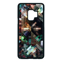 Abstract Texture Desktop Samsung Galaxy S9 Seamless Case(black) by HermanTelo
