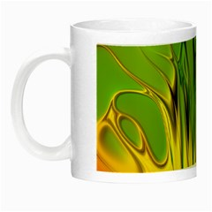 Abstract Pattern Lines Wave Night Luminous Mugs by HermanTelo