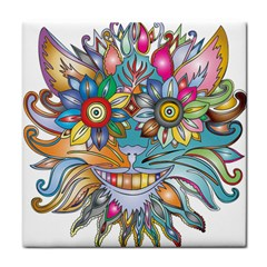 Anthropomorphic Flower Floral Plant Face Towel