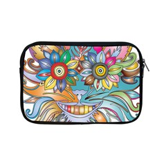 Anthropomorphic Flower Floral Plant Apple Ipad Mini Zipper Cases