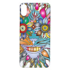 Anthropomorphic Flower Floral Plant Iphone X/xs Soft Bumper Uv Case