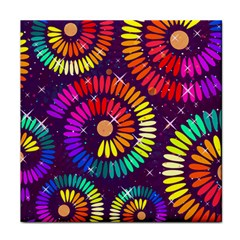 Abstract Background Spiral Colorful Tile Coasters by HermanTelo