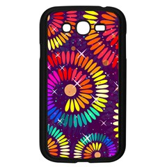Abstract Background Spiral Colorful Samsung Galaxy Grand Duos I9082 Case (black) by HermanTelo