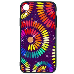 Abstract Background Spiral Colorful Iphone Xr Soft Bumper Uv Case by HermanTelo
