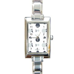 Apples Pears Continuous Rectangle Italian Charm Watch by HermanTelo