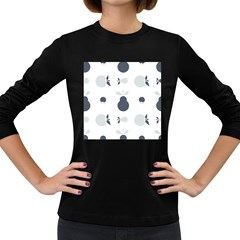 Apples Pears Continuous Women s Long Sleeve Dark T-shirt by HermanTelo