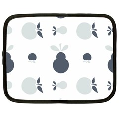 Apples Pears Continuous Netbook Case (xl) by HermanTelo