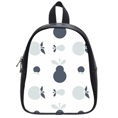 Apples Pears Continuous School Bag (small) by HermanTelo