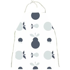 Apples Pears Continuous Full Print Aprons by HermanTelo