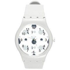 Apples Pears Continuous Round Plastic Sport Watch (m) by HermanTelo
