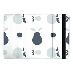 Apples Pears Continuous Samsung Galaxy Tab Pro 10 1  Flip Case by HermanTelo