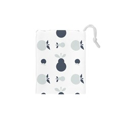 Apples Pears Continuous Drawstring Pouch (xs) by HermanTelo