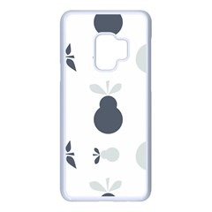 Apples Pears Continuous Samsung Galaxy S9 Seamless Case(white)