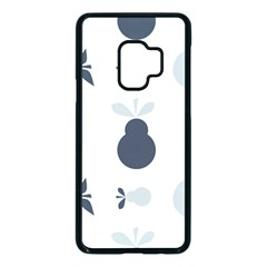 Apples Pears Continuous Samsung Galaxy S9 Seamless Case(black)