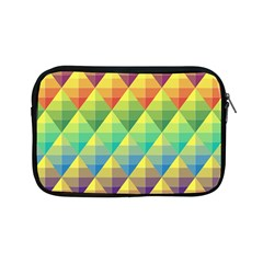 Background Colorful Geometric Triangle Apple Ipad Mini Zipper Cases by HermanTelo