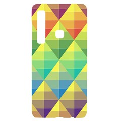 Background Colorful Geometric Triangle Samsung Case Others by HermanTelo