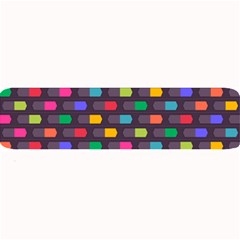 Background Colorful Geometric Large Bar Mats
