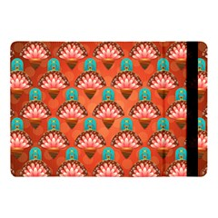 Background Floral Pattern Red Apple Ipad Pro 10 5   Flip Case