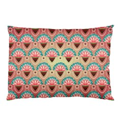 Background Floral Pattern Pink Pillow Case by HermanTelo