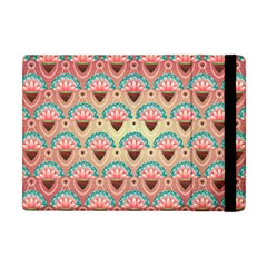 Background Floral Pattern Pink Apple Ipad Mini Flip Case by HermanTelo