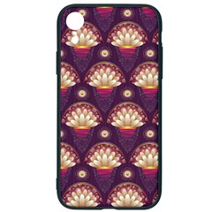Background Floral Pattern Purple Iphone Xr Soft Bumper Uv Case by HermanTelo