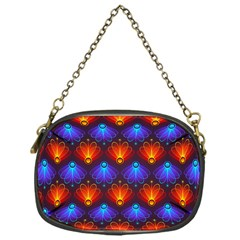 Background Colorful Abstract Chain Purse (one Side) by HermanTelo