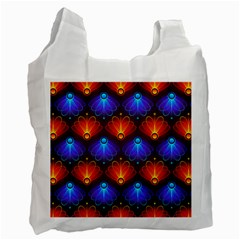 Background Colorful Abstract Recycle Bag (one Side) by HermanTelo