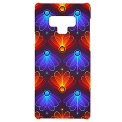 Background Colorful Abstract Samsung Note 9 Black Uv Print Case  by HermanTelo