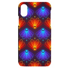 Background Colorful Abstract Iphone X/xs Black Uv Print Case