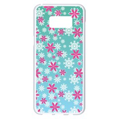 Background Frozen Fever Samsung Galaxy S8 Plus White Seamless Case