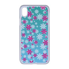 Background Frozen Fever Iphone Xr Seamless Case (white)