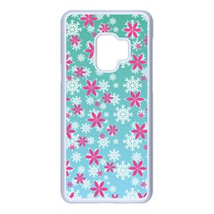Background Frozen Fever Samsung Galaxy S9 Seamless Case(white)