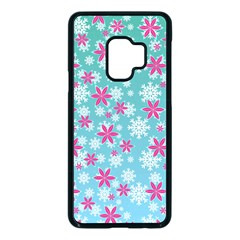 Background Frozen Fever Samsung Galaxy S9 Seamless Case(black)