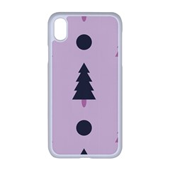 Christmas Tree Fir Den Iphone Xr Seamless Case (white)