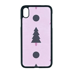 Christmas Tree Fir Den Iphone Xr Seamless Case (black)