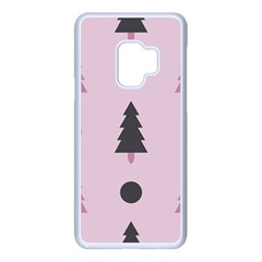 Christmas Tree Fir Den Samsung Galaxy S9 Seamless Case(white)