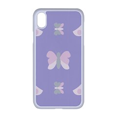 Butterfly Butterflies Merry Girls Iphone Xr Seamless Case (white)