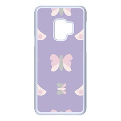 Butterfly Butterflies Merry Girls Samsung Galaxy S9 Seamless Case(white) by HermanTelo