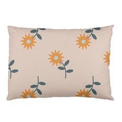 Flowers Continuous Pattern Nature Pillow Case (two Sides)