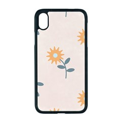 Flowers Continuous Pattern Nature Iphone Xr Seamless Case (black)