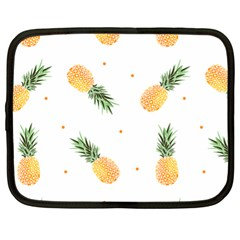 Pineapples Pattern Netbook Case (xl) by goljakoff