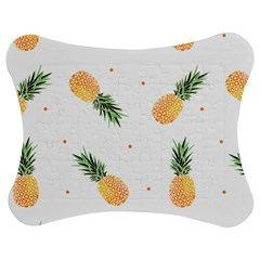 Pineapples Pattern Jigsaw Puzzle Photo Stand (bow) by goljakoff