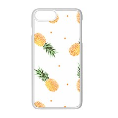 Pineapples Pattern Iphone 8 Plus Seamless Case (white) by goljakoff