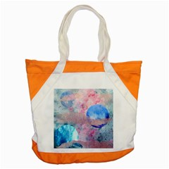 Abstract Clouds And Moon Accent Tote Bag by charliecreates